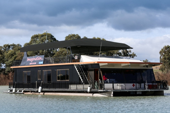 Imagination Houseboat is purchased by SACARE in 2014 and renovated to make it wheelchair accessible