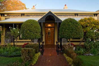 The Marshall's family home, Barton House in North Adelaide, converted to a Supported Independent Living facility