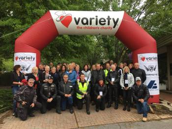 SACARE awarded Ten Year Certificate from Variety: The Children's Charity
